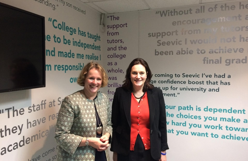 Vicky Ford MEP and Rebecca Harris MP