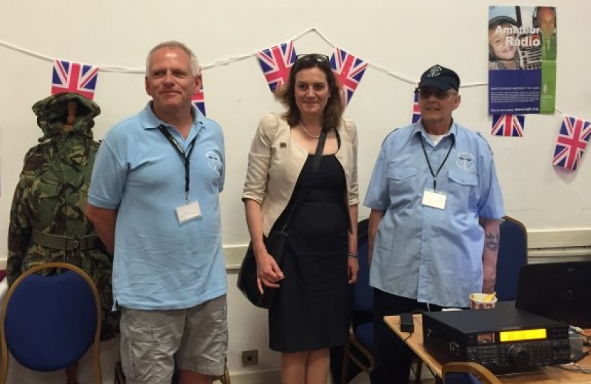 Rebecca Harris MP on Armed Forces Day