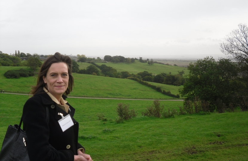 Rebecca Harris MP calling for a third road off Canvey